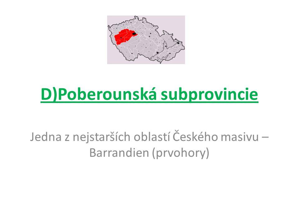 D)Poberounská subprovincie