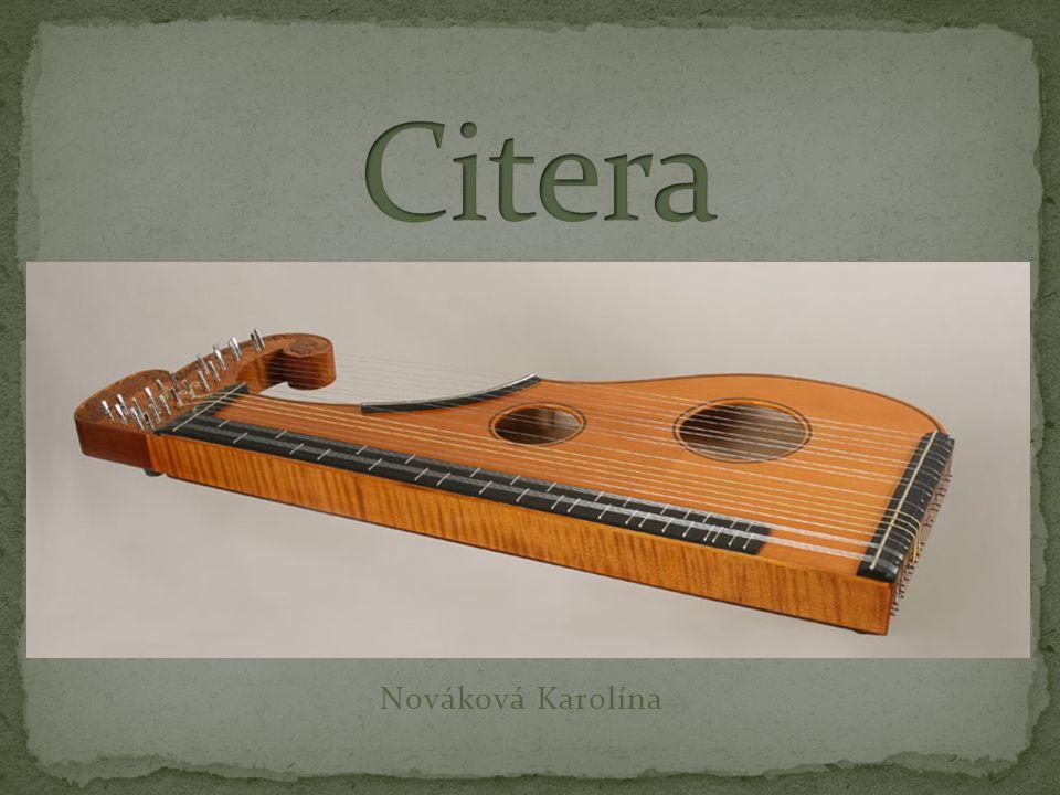 Citera Nováková Karolína