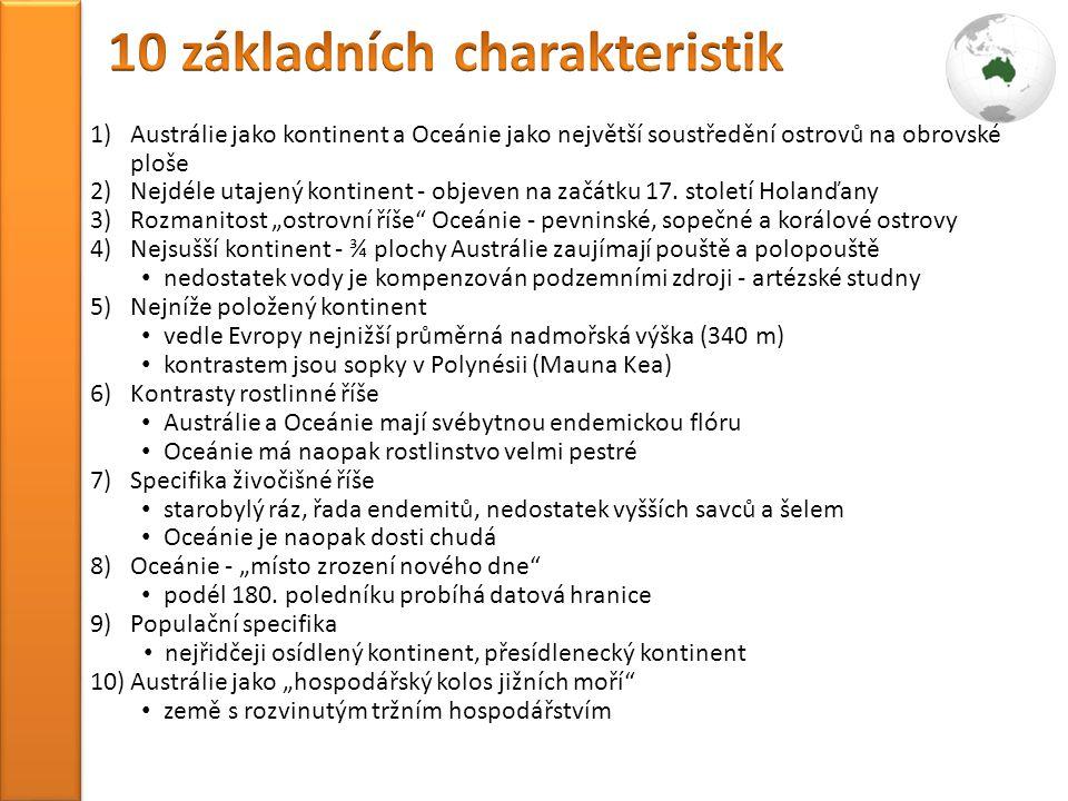 10 základních charakteristik