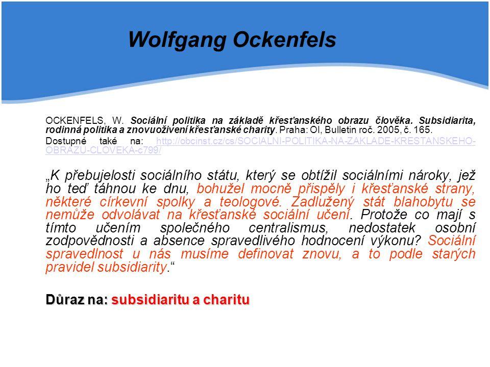 Wolfgang Ockenfels
