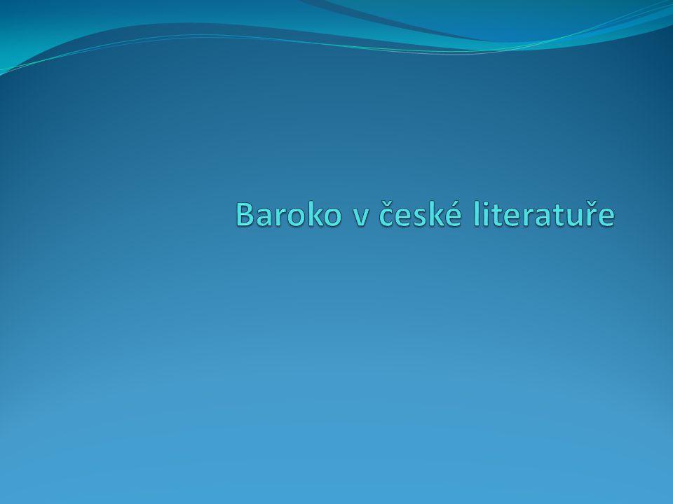 Baroko v české literatuře