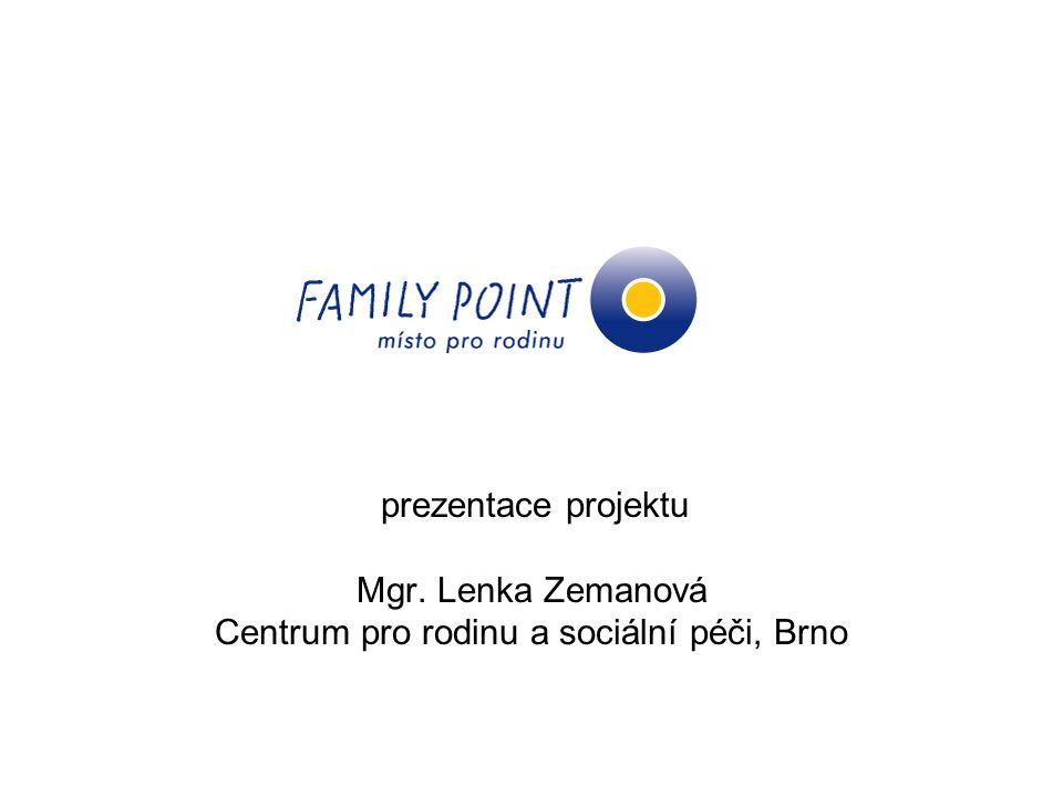 Centrum pro rodinu a sociální péči, Brno