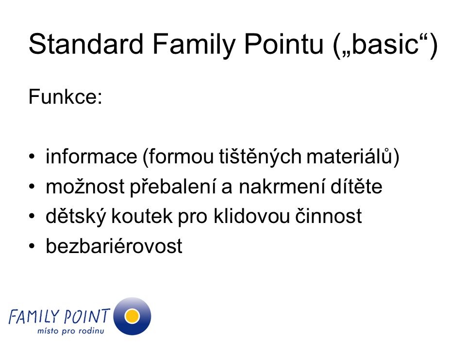 "Standard Family Pointu (""basic )"
