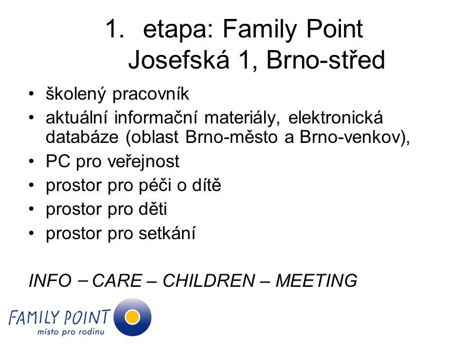 etapa: Family Point Josefská 1, Brno-střed