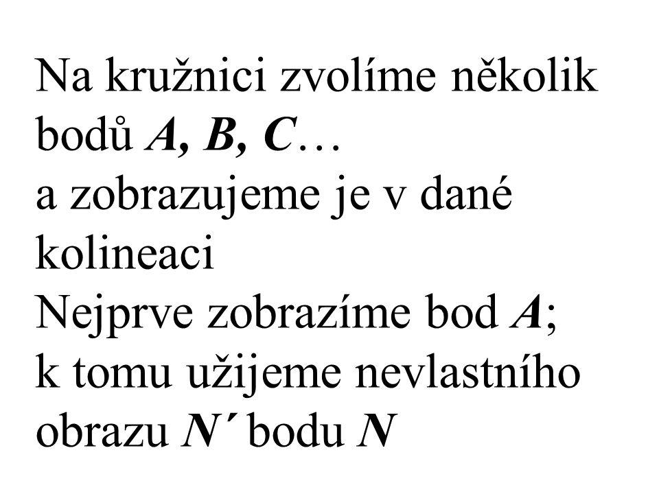 Na kružnici zvolíme několik bodů A, B, C…