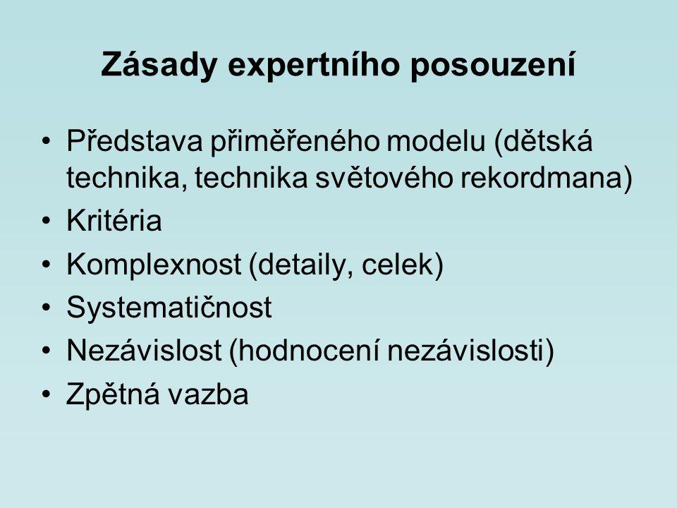 Zásady expertního posouzení