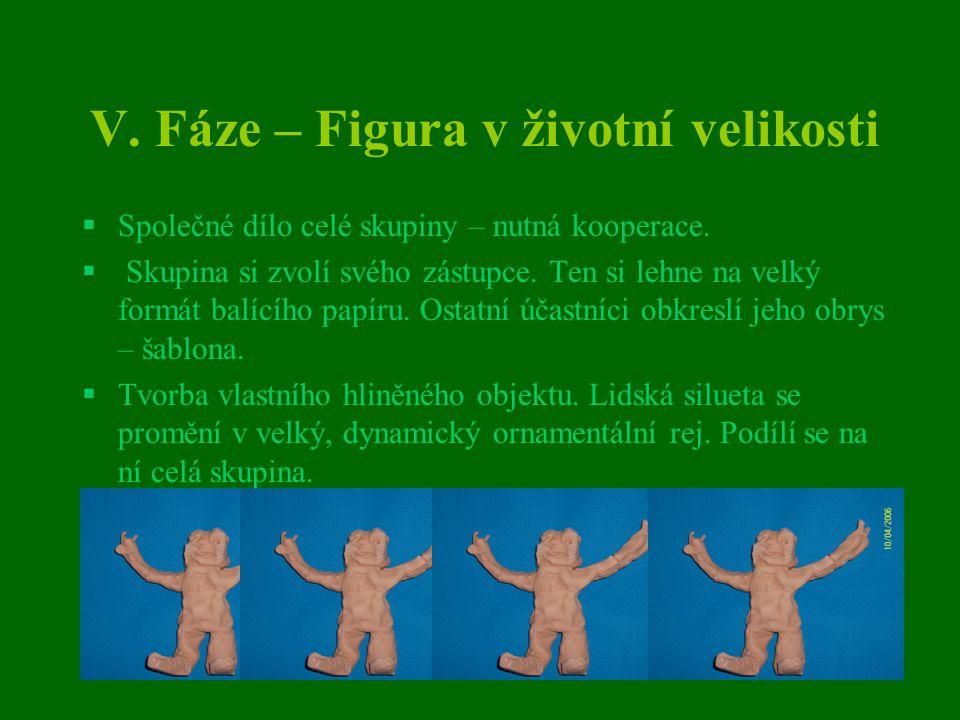 V. Fáze – Figura v životní velikosti