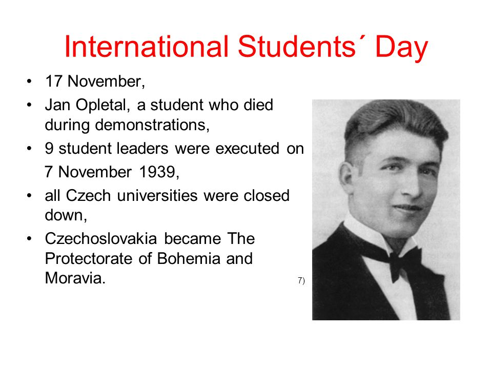 International Students´ Day