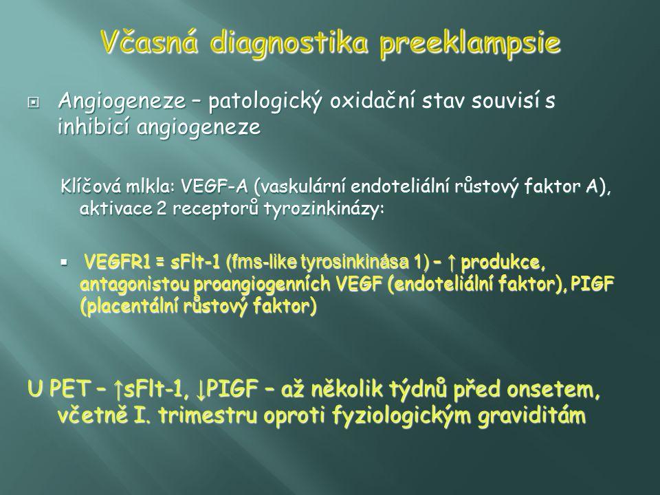 Včasná diagnostika preeklampsie