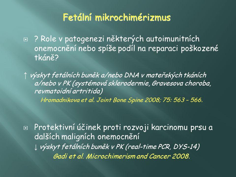 Fetální mikrochimérizmus