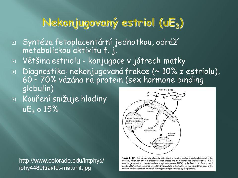 Nekonjugovaný estriol (uE3)
