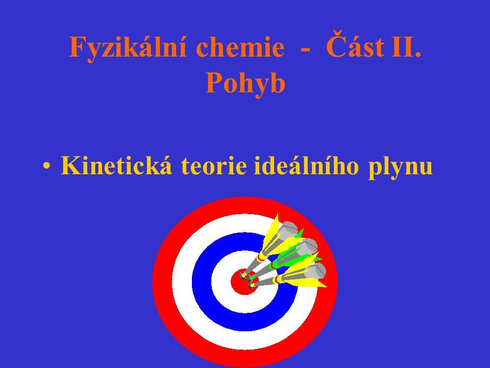 Fyzikální chemie - Část II. Pohyb