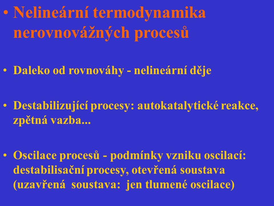 Nelineární termodynamika nerovnovážných procesů