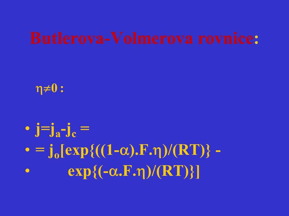 Butlerova-Volmerova rovnice:
