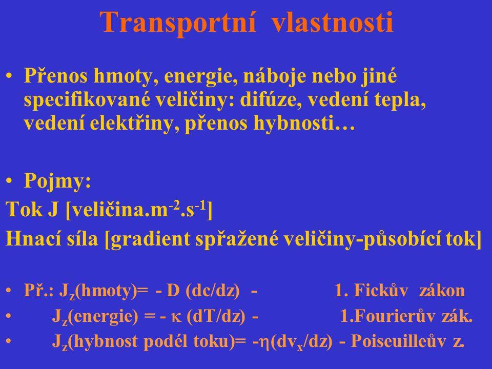 Transportní vlastnosti
