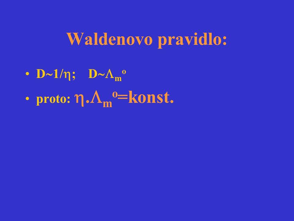 Waldenovo pravidlo: D1/; Dmo proto: .mo=konst.