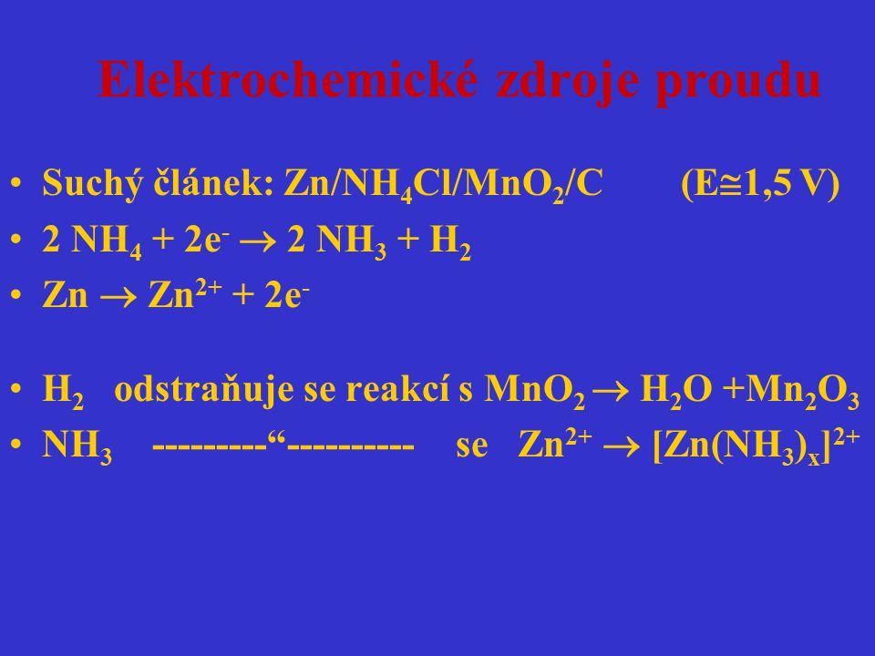 Elektrochemické zdroje proudu