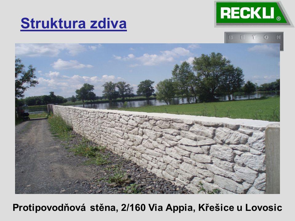 Protipovodňová stěna, 2/160 Via Appia, Křešice u Lovosic