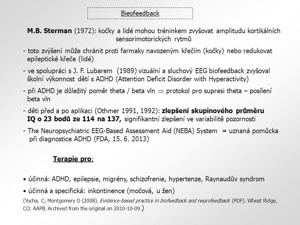 účinná a specifická: inkontinence (močová, u žen)