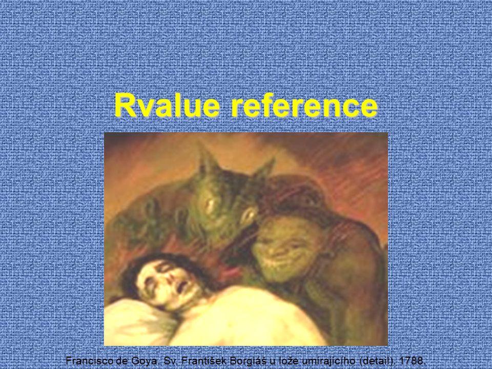 Rvalue reference Francisco de Goya. Sv. František Borgiáš u lože umírajícího (detail). 1788.