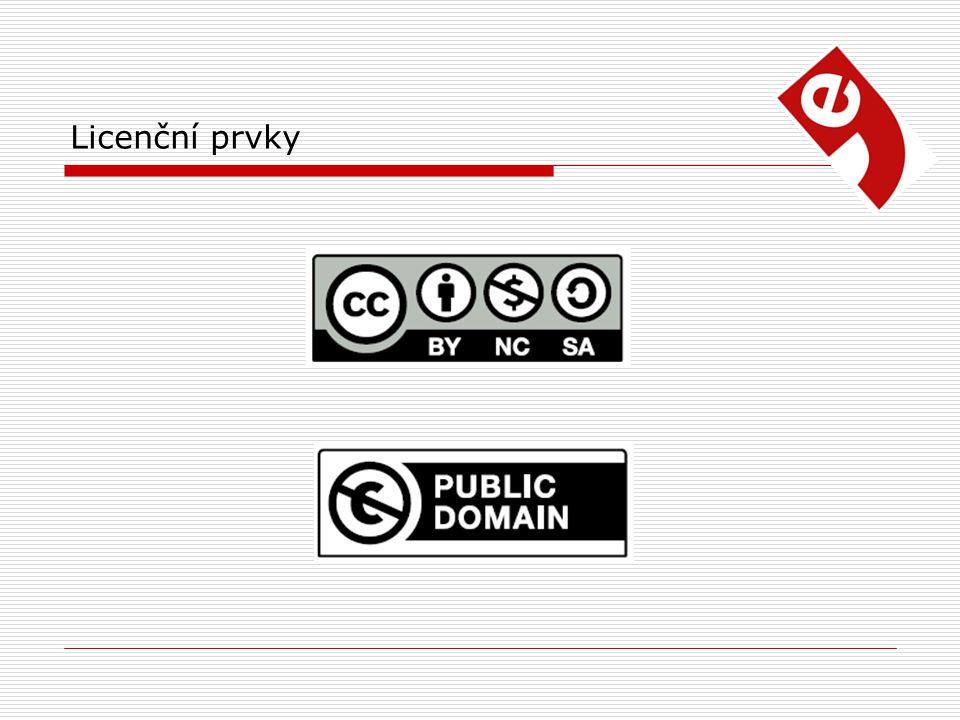 Licenční prvky