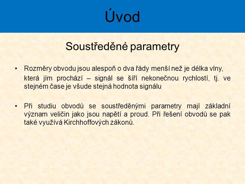 Soustředěné parametry