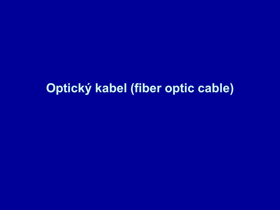 Optický kabel (fiber optic cable)