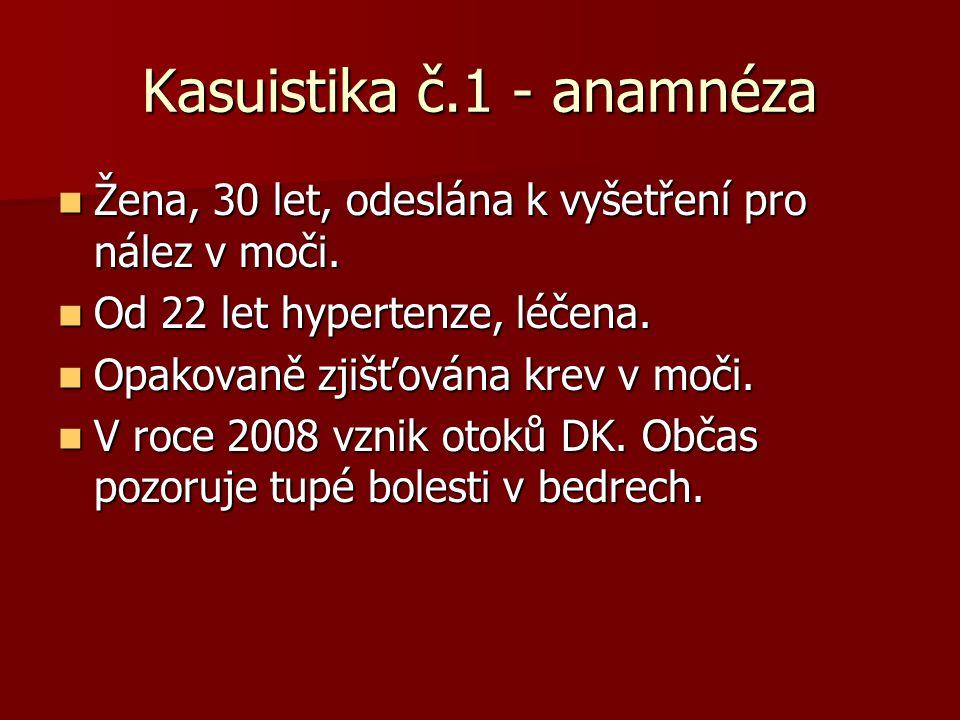 Kasuistika č.1 - anamnéza