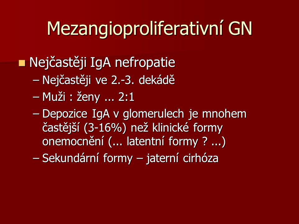 Mezangioproliferativní GN