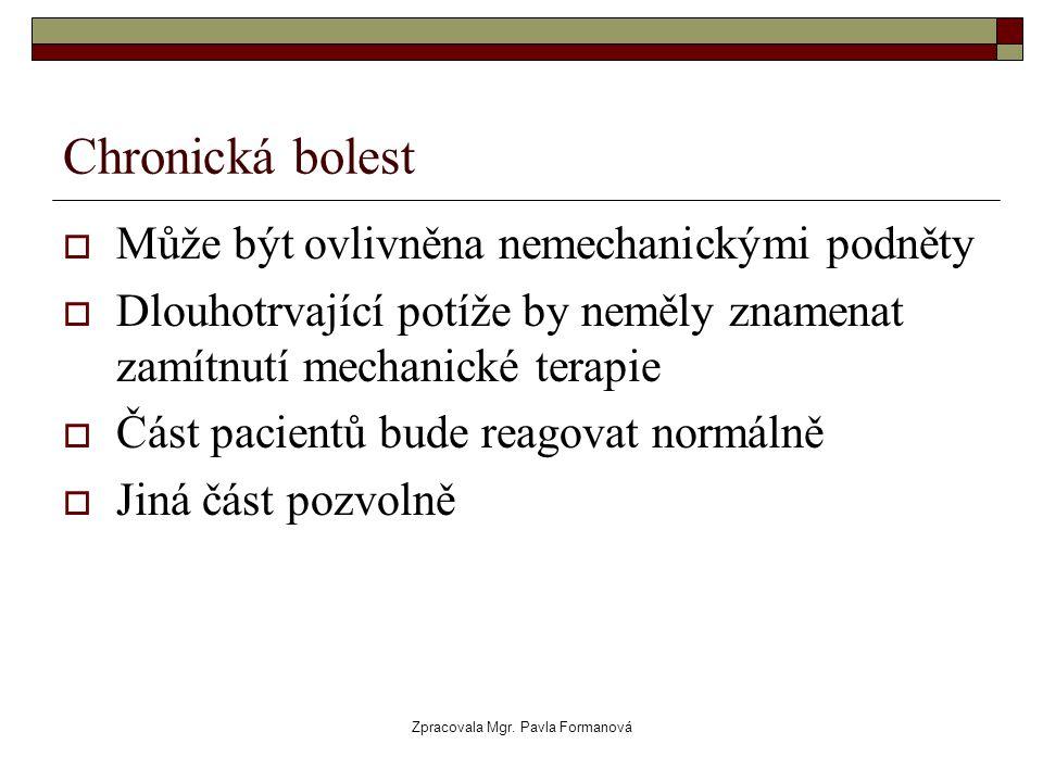Zpracovala Mgr. Pavla Formanová