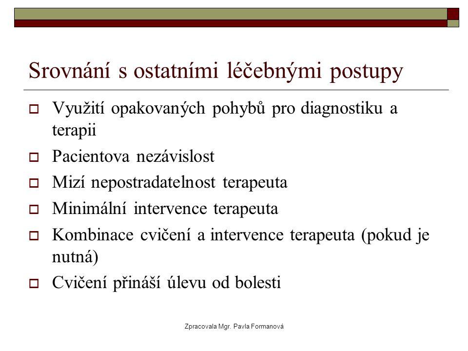 Srovnání s ostatními léčebnými postupy