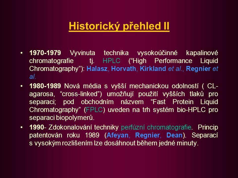Historický přehled II