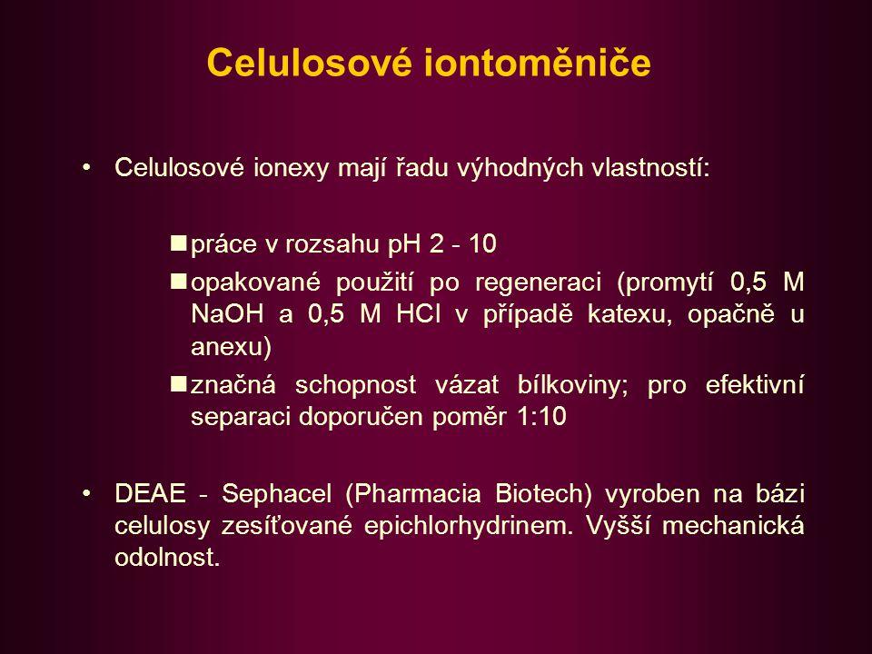 Celulosové iontoměniče