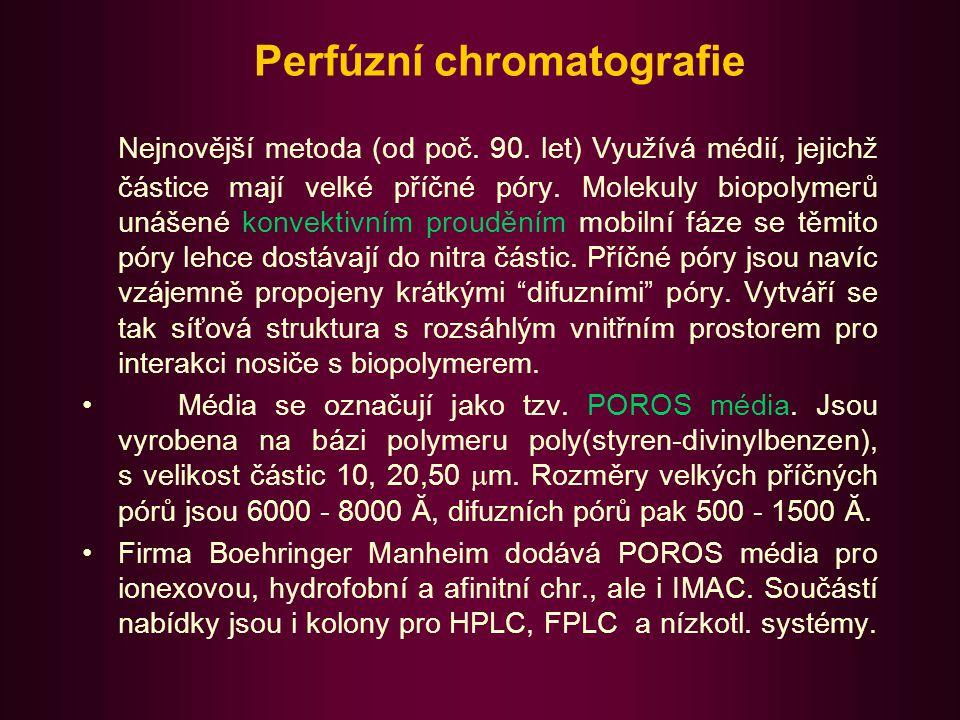 Perfúzní chromatografie