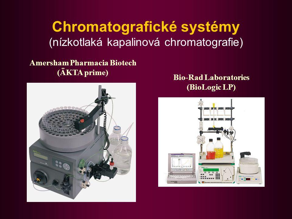 Chromatografické systémy (nízkotlaká kapalinová chromatografie)