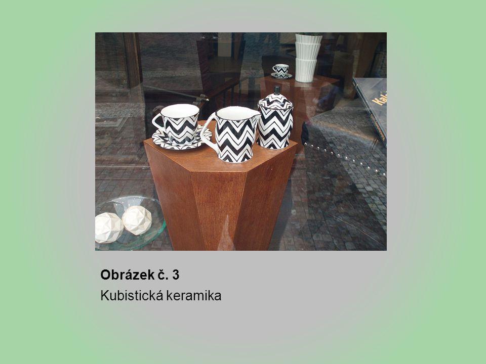 Obrázek č. 3 Kubistická keramika