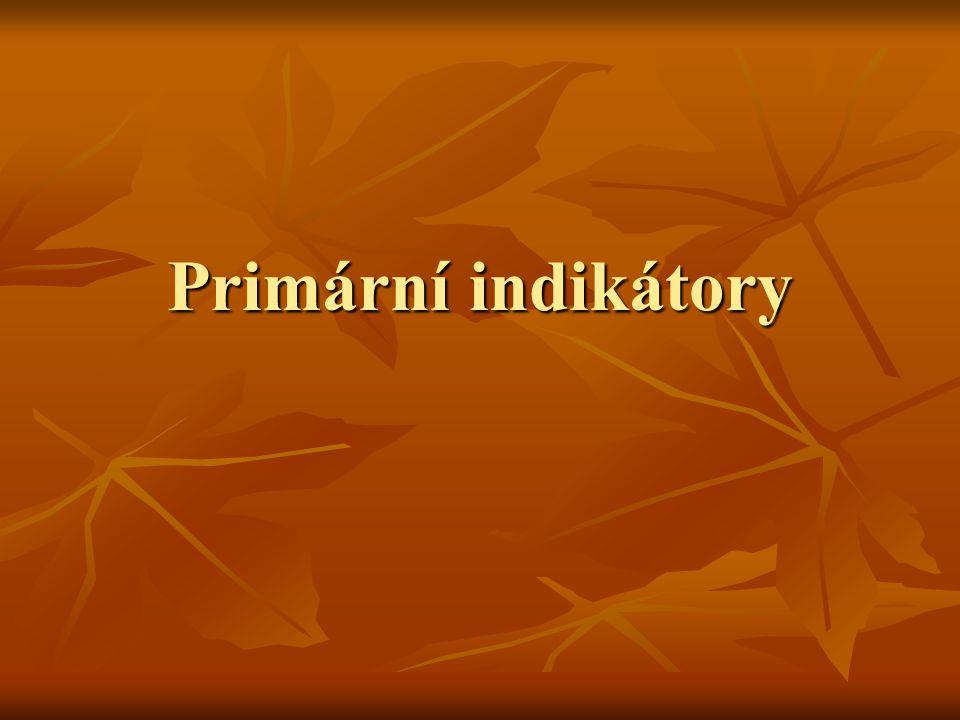Primární indikátory