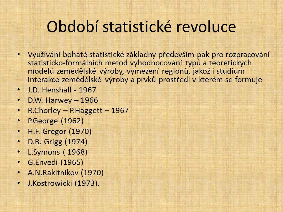 Období statistické revoluce