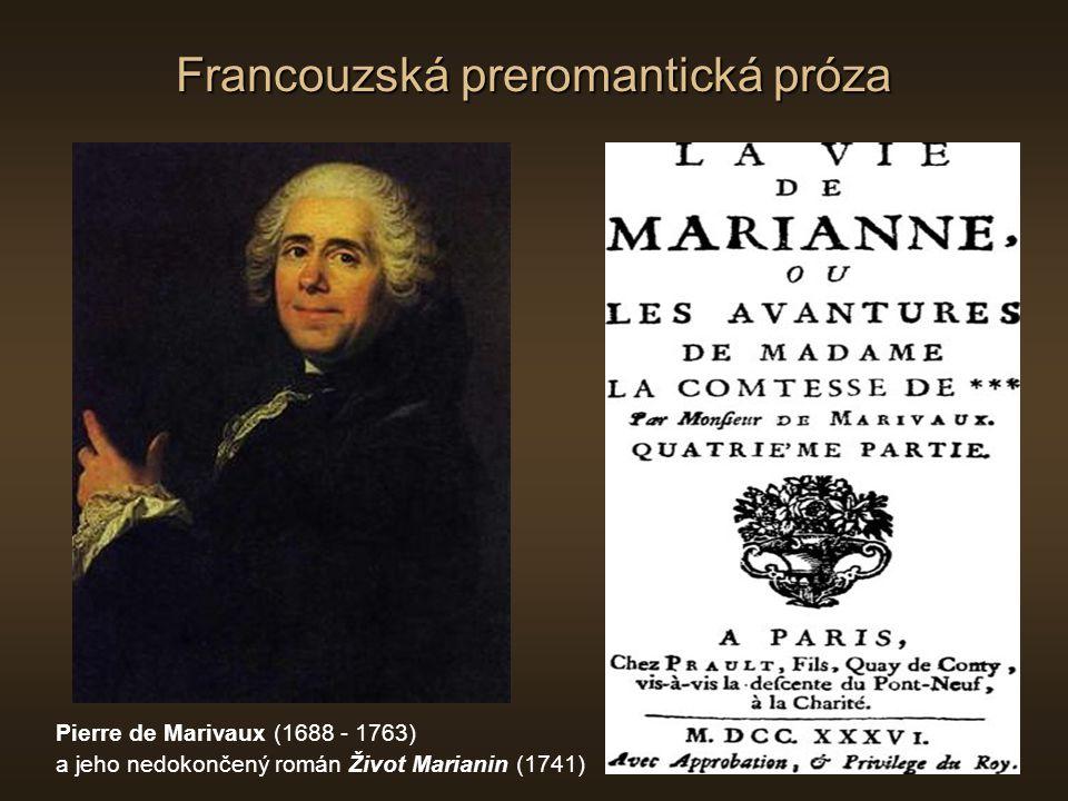 Francouzská preromantická próza