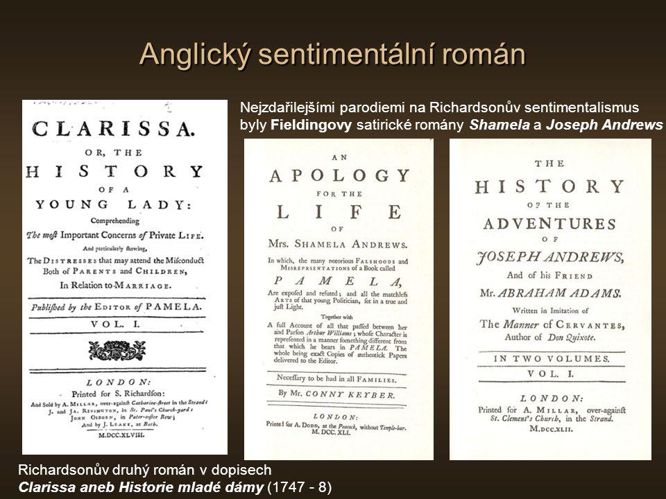 Anglický sentimentální román