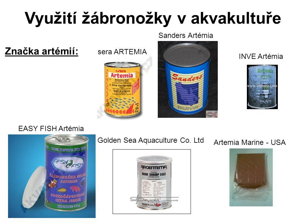 Využití žábronožky v akvakultuře