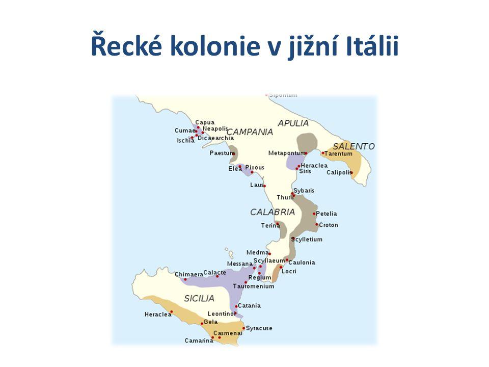 Řecké kolonie v jižní Itálii