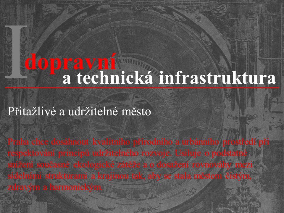I dopravní a technická infrastruktura Přitažlivé a udržitelné město