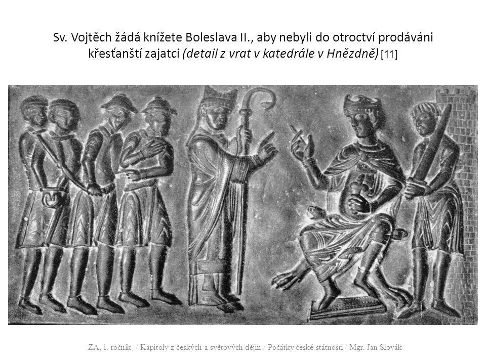 Sv. Vojtěch žádá knížete Boleslava II