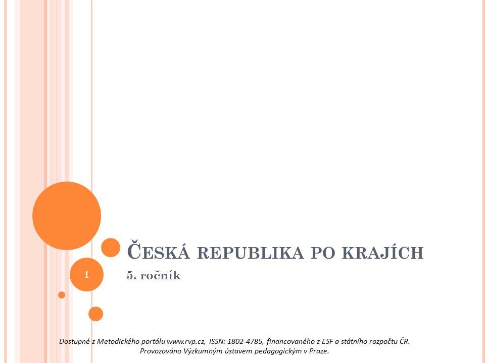 Česká republika po krajích