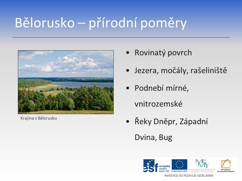 Bělorusko – přírodní poměry