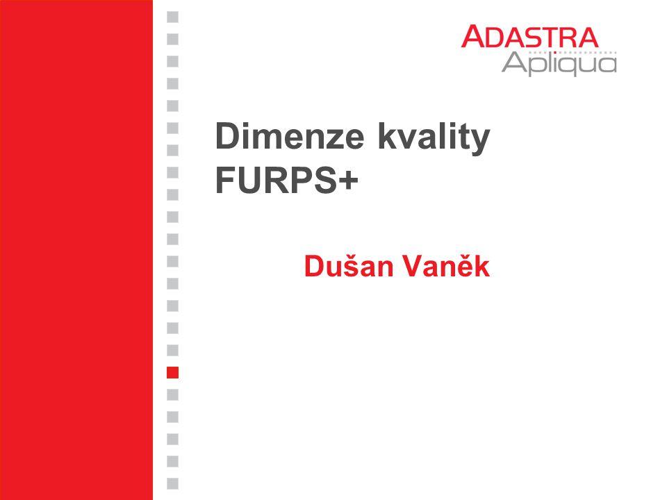 Dimenze kvality FURPS+