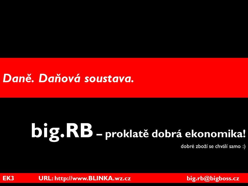 big.RB – proklatě dobrá ekonomika! dobré zboží se chválí samo :)