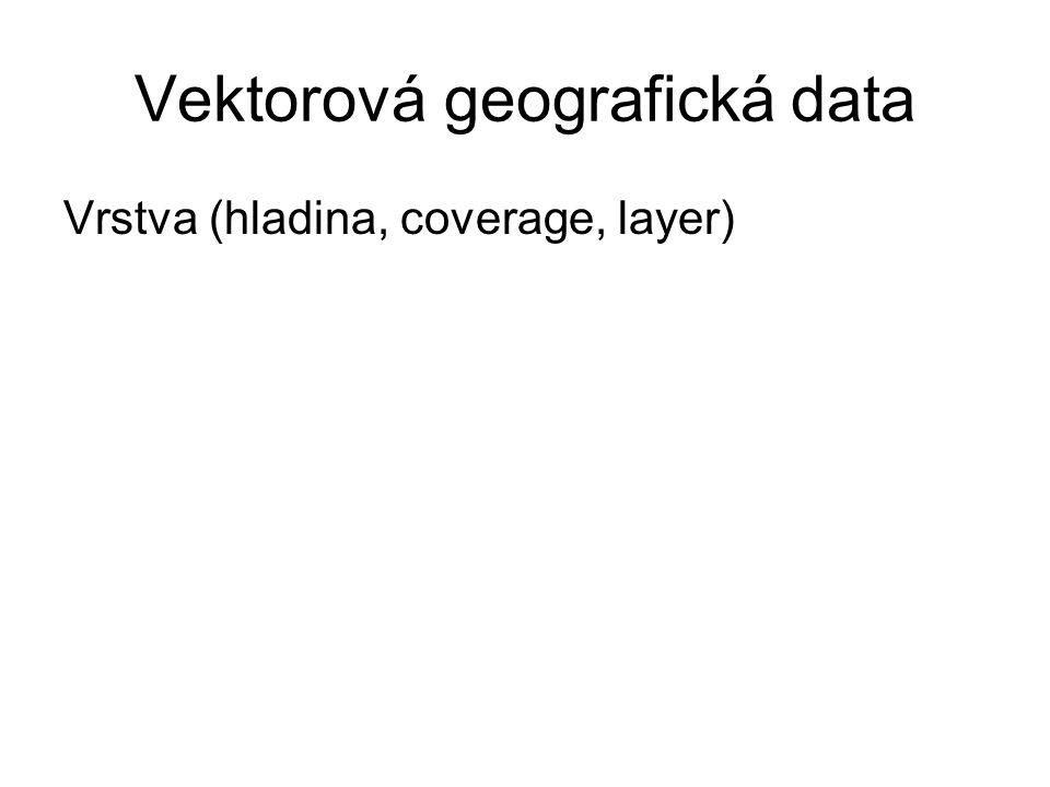 Vektorová geografická data