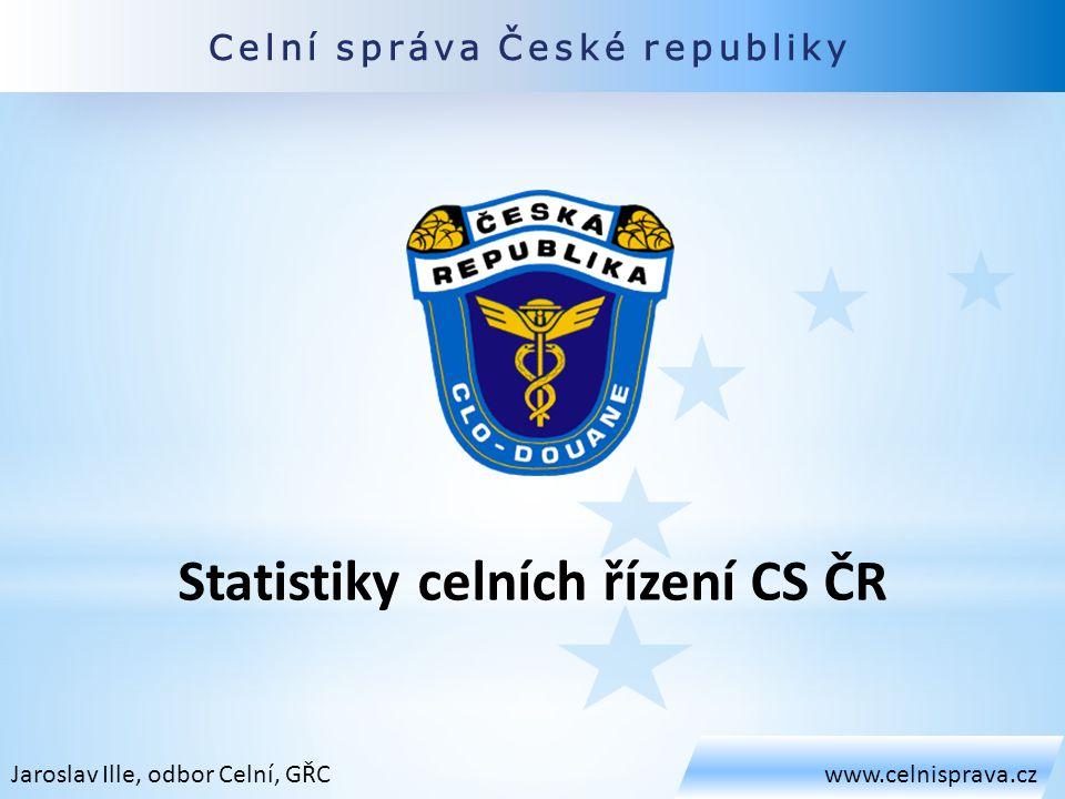 Statistiky celních řízení CS ČR
